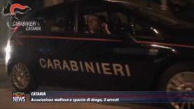 Catania, associazione mafiosa e spaccio di droga, 6 arresti