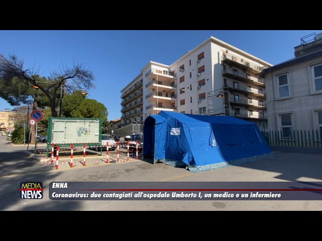 Coronavirus: due nuovi positivi all'ospedale Umberto I
