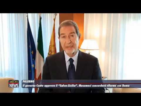 """Il Governo Conte approva il """"Salva Sicilia"""". Musumeci concorderà le riforme con Roma"""