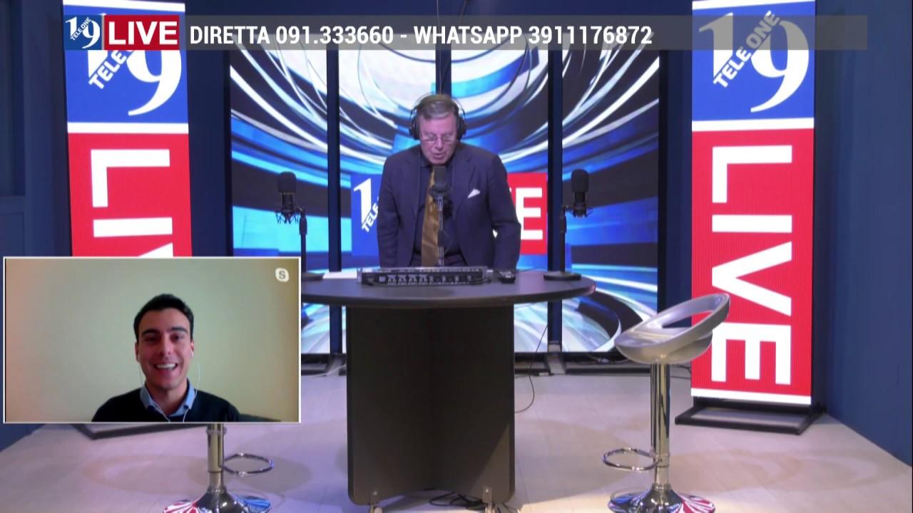 Intervento in diretta dell'Avv. Antonio Vecce su 19 Live su Tele One