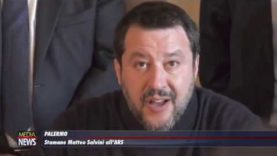 Matteo Salvini all'Ars  presenta il gruppo della Lega