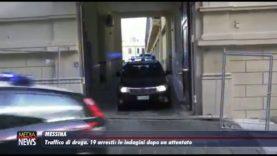 Messina. Traffico di droga, 19 arresti: le indagini dopo un attentato