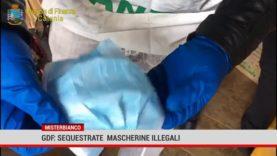 Misterbianco. Gdf: sequestrate mascherine illegali