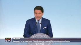 Musumeci ha presentato a Conte le misure economiche per contrastare la crisi