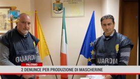 Palermo. 2 denunce per produzione di mascherine