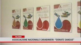 """Palermo. Associazione nazionale Carabinieri: """" Donate sangue"""""""