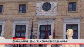Palermo. Coronavirus: 2.500 dipendenti del Comune in telelavoro