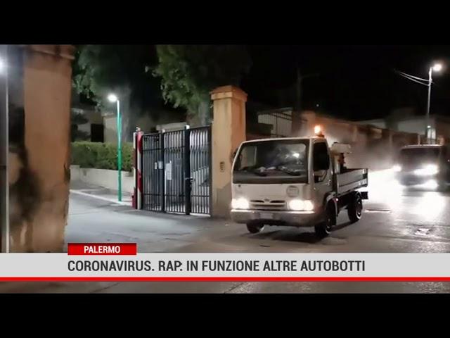 Palermo. Coronavirus. Rap: in funzione altre autobotti