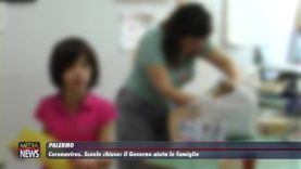 Palermo. Coronavirus. Scuole chiuse. Il Governo aiuta le famiglie