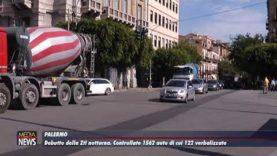 Palermo. Debutto della Ztl notturna. Controllate 1562 auto di cui 122 verbalizzate