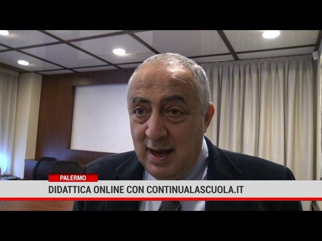 """Palermo. Didattica online con """"Continualascuola.it"""""""