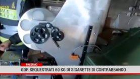 Palermo. GdF: sequestrati 60 kg di sigarette di contrabbando