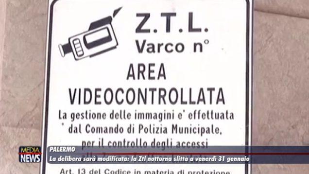 Palermo. La delibera sarà modificata: slitta al 31 gennaio la Ztl notturna