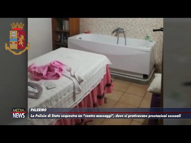 Palermo. La polizia di Stato sequestra un centro massaggi
