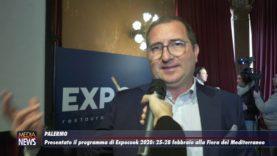 Palermo. Presentato il programma di ExpoCook 2020, da domani alla Fiera del Mediterraneo