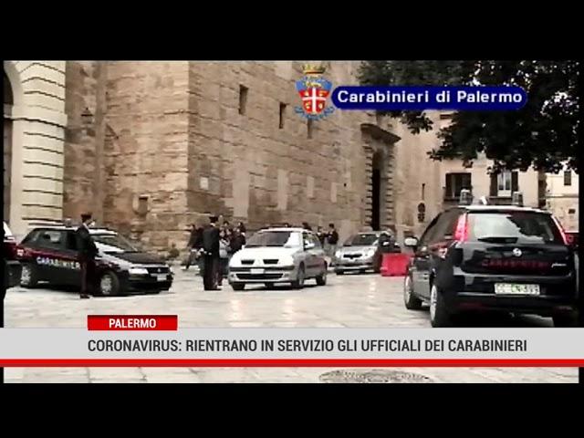 Palermo. Rientrano in servizio gli otto ufficiali del Comando Carabinieri di Palermo