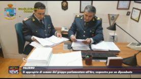 Palermo. Si appropria di somme del gruppo parlamentare all'Ars, scatta sequestro