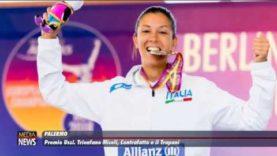 Premi Ussi all'allenatrice di pallanuovo Martina Miceli, a Monica Contrafatto e al Trapani Calcio
