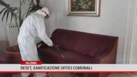 Reset: sanificazione uffici comunali a Palermo