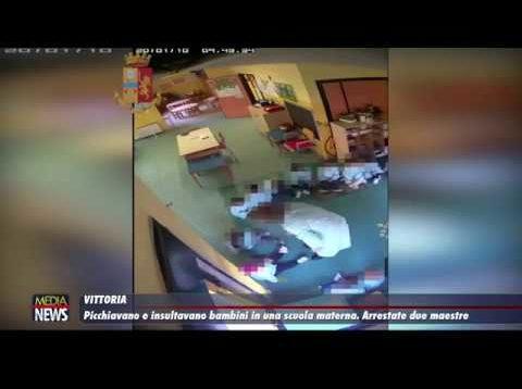 Vittoria. Bambini picchiati all'asilo: arrestate due maestre