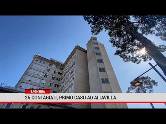 25 contagiati a Bagheria, il primo ad Altavilla Milicia