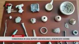 Agrigento. Conservava in casa reperti archeoligici, denunciato 55enne