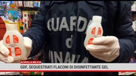 Altavilla Milicia. Sequestro flaconi disinfettante gel non sicuro