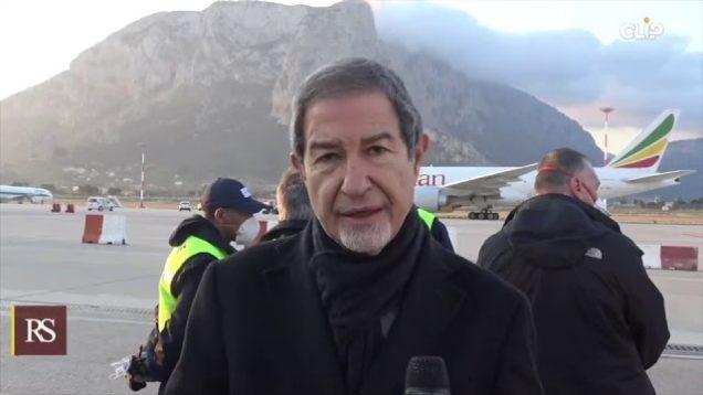 Atterrato a Palermo un carico di 40 tonnellate di dispositivi acquistato dalla Regione
