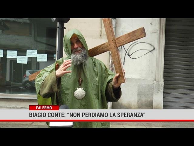 """Biagio Conte: """"Non perdiamo la speranza"""""""