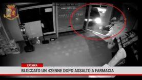 Catania. Bloccato un 42 enne dopo assalto a farmacia