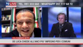 Cateno De Luca chiede all'ANCI più impegno per i Comuni