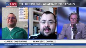 CLAUDIO COSTANTINO e FRANCESCO CAPPELLO IN DIRETTA SU TELE ONE IN 19 LIVE