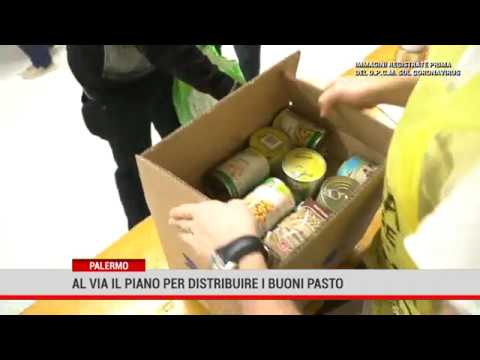 Coronavirus: al via piano aiuti alimentari a Palermo