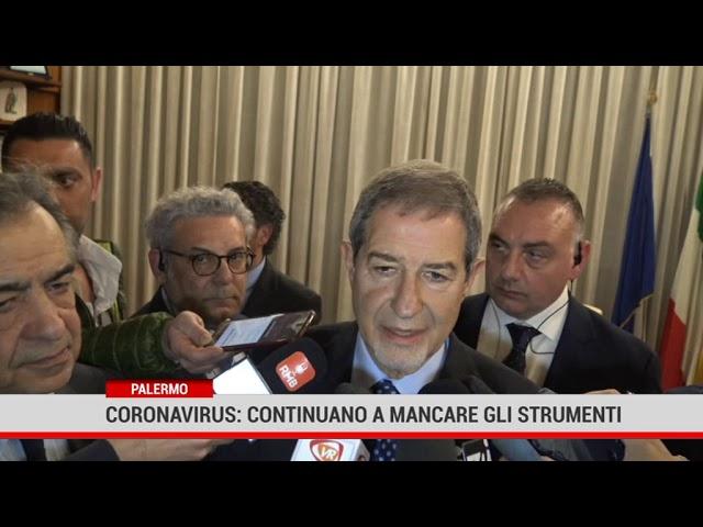 Coronavirus. Musumeci: lo Stato non fornisce adeguati strumenti alla Sicilia