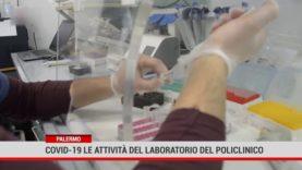 Covid 19, le attività del laboratorio del Policlinico di Palermo