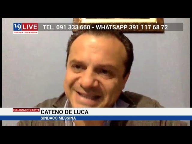 De Luca: no all'attraversamento indiscriminato nello stretto di Messina