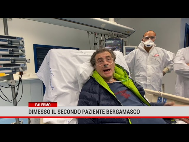 Dimesso il secondo paziente bergamasco: grazie Sicilia