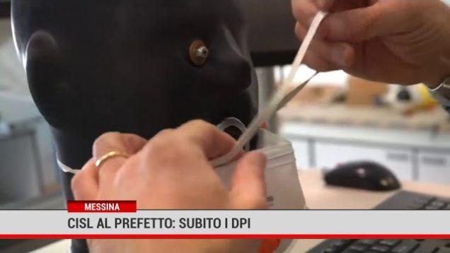 "Emergenza coronavirus, CISL al Prefetto: ""Subito  i DPI"""
