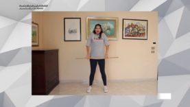 Esercizi per giovani ed anziani costretti a casa con Tiziana Parisi su TELE ONE