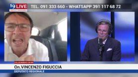 FIGUCCIA VINCENZO E DEPUTATO REGIONALE IN DIRETTA SU TELE ONE IN 19 LIVE