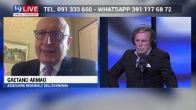 GAETANO ARMAO in Diretta TV su TELE ONE in 19 LIVE