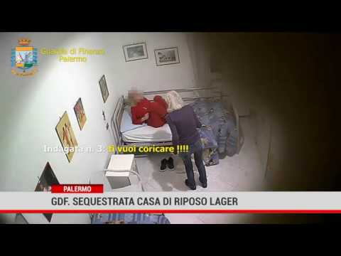 GdF. Sequestrata casa di riposo lager a Palermo