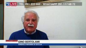 Girolamo Bertolami Sindaco di Novara di Sicilia in diretta TV su Tele One