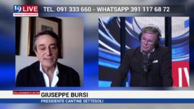 GIUSEPPE BURSI CANTINE SETTESOLI IN DIRETTA SU TELE ONE IN 19LIVE