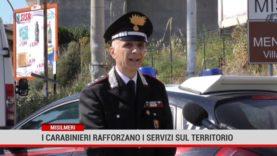 I Carabinieri rafforzano i servizi sul territorio