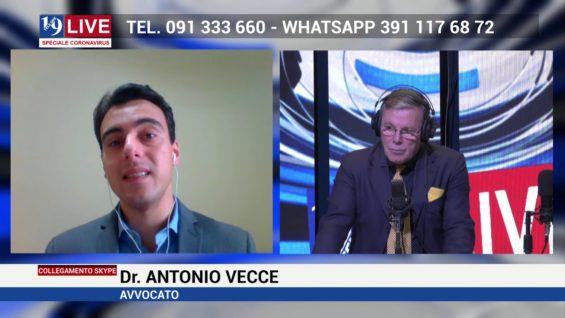 Intervento dell'Avvocato Antonio Vecce sulle sanzioni previste per gli spostamenti ingiustificati
