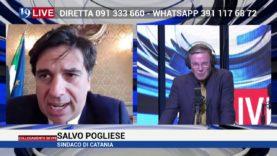 Intervista in diretta Salvo Pogliese su Tele One