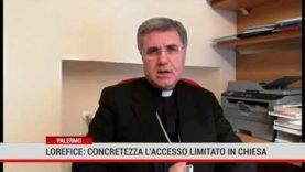 Lorefice: concretezza gli accessi limitati in chiesa