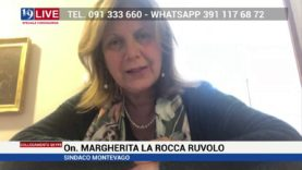 Margherita La Rocca Ruvolo in diretta TV su Tele One