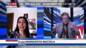Margherita Mazzola Biologa in diretta TV su Tele One